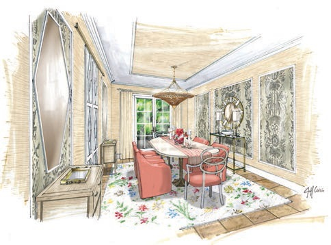 A preview of this year's Kips Bay Decorator Show House Palm Beach